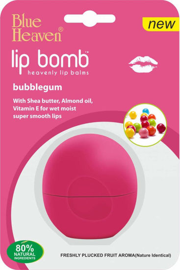 Blue Heaven Lip Bomb - Strawberry , Bubble Gum