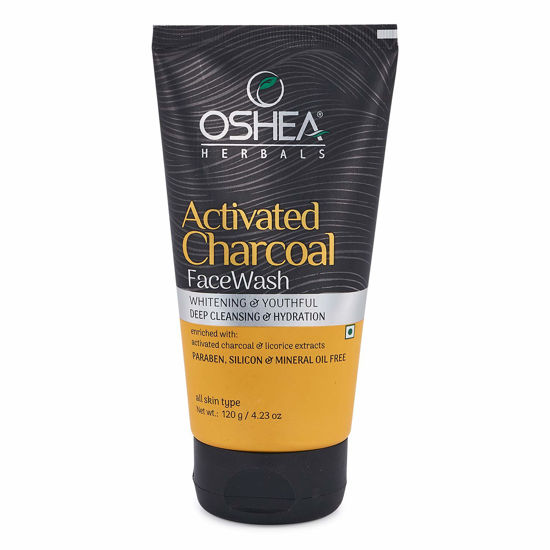 Oshea Activated Charcoal Face Wash