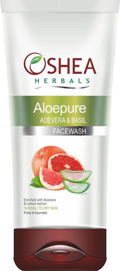 Oshea Herbal Aloepure Aloevera & Basil Face Wash